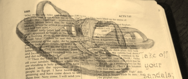 Acts 7 33